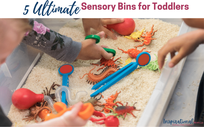 5 Ultimate Sensory Bins for Toddlers