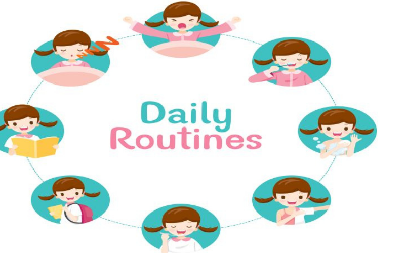 children learn routines as a benefit of early childhood education