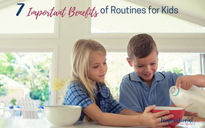 7 Important Benefits of Routines for Toddlers
