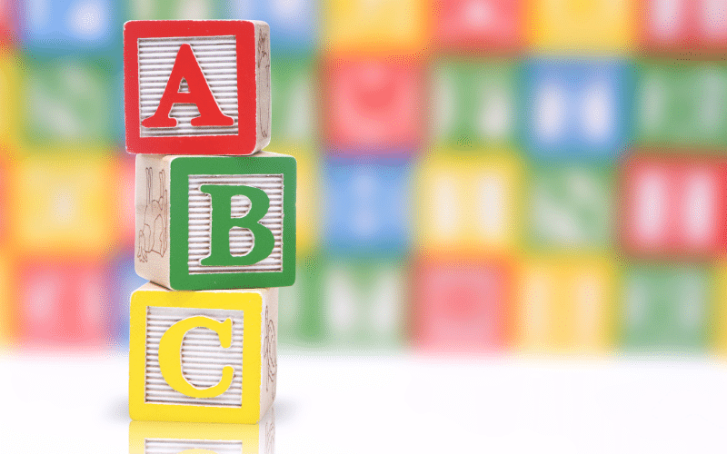 learning to recognize letters as a tip to getting your preschooler ready to read
